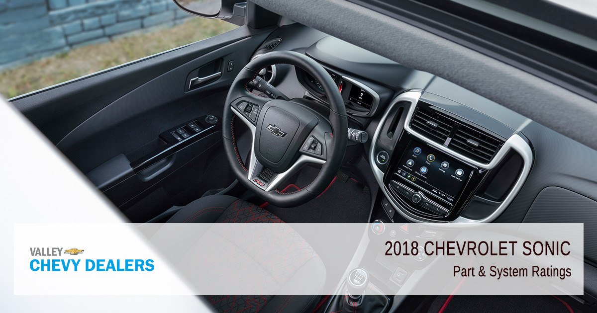 2018 Chevy Sonic Reliability - Parts