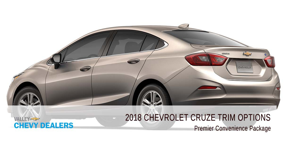 Valley Chevrolet - 2018 Trims Cruze - Premier Convenience Package