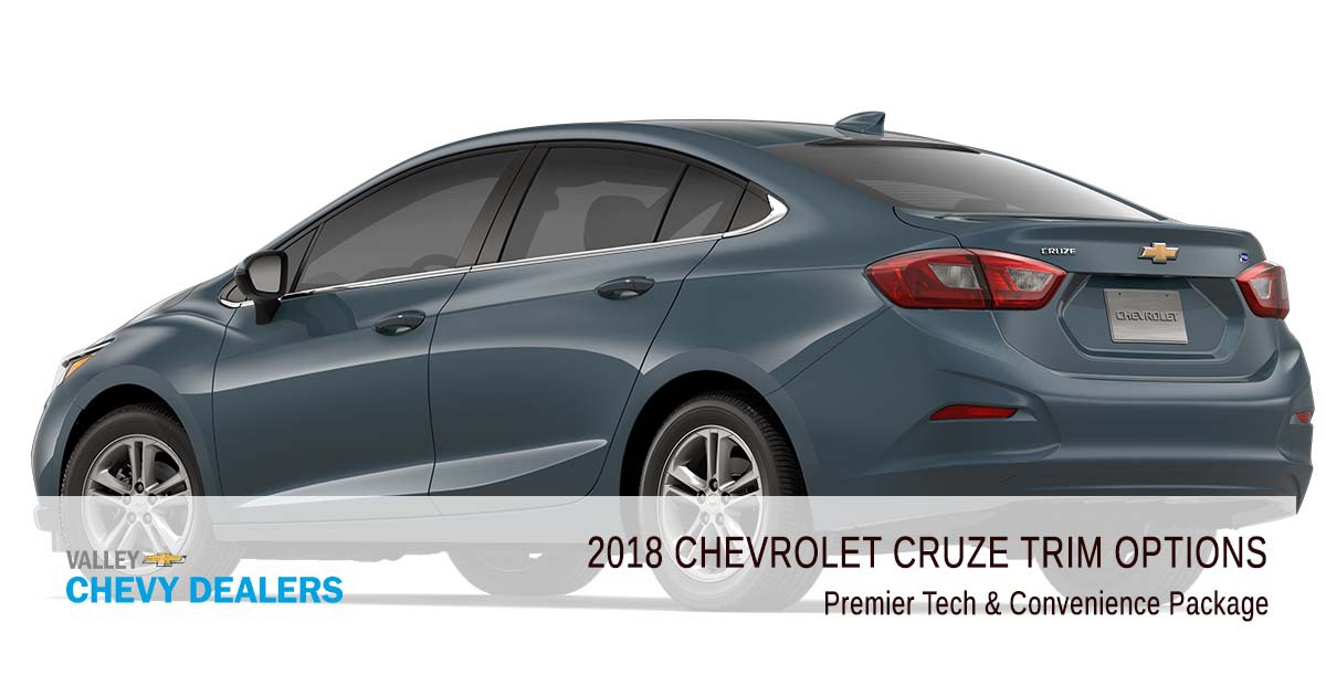 Valley Chevrolet - 2018 Trims Cruze - Premier Tech & Convenience Package