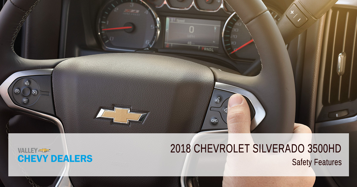 2018 Chevy Silverado 3500HD Safety Rating - Safety Features