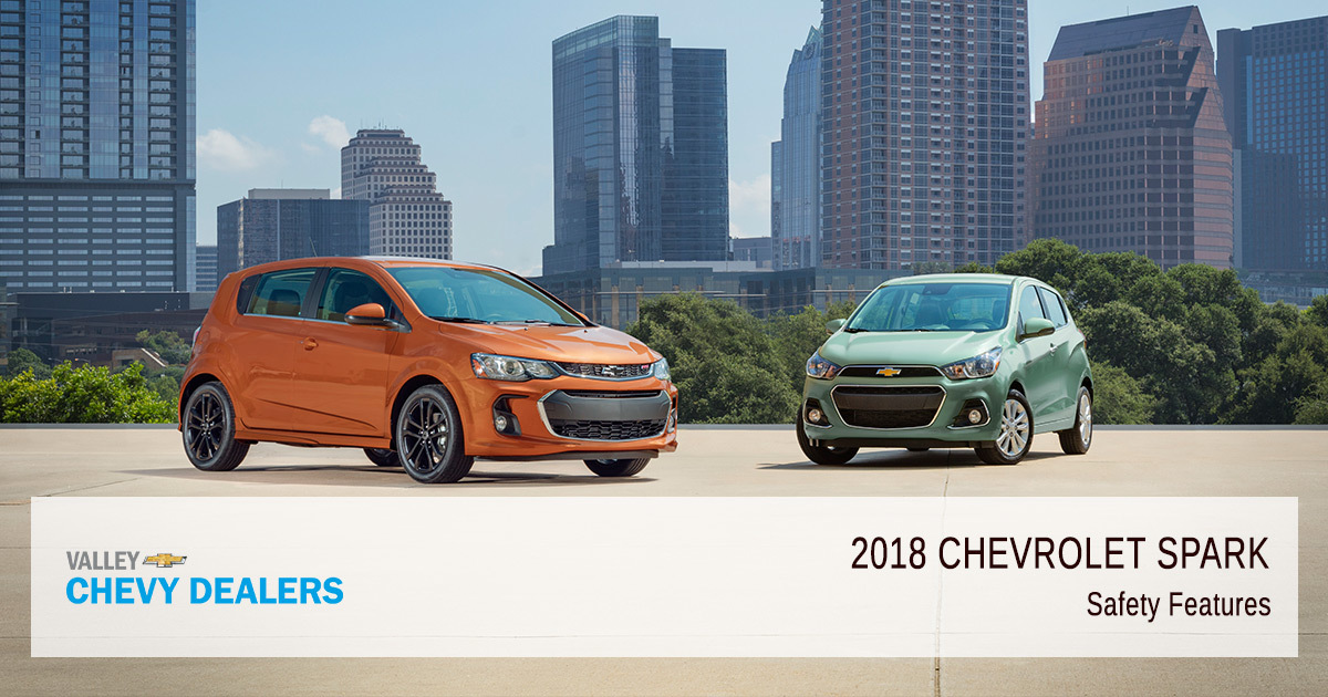 2018 Chevy Spark Safety Rating - Features