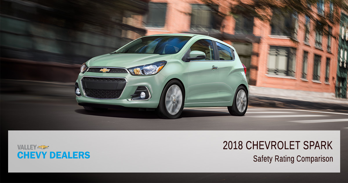 2018 Chevy Spark Safety Rating - Comparison