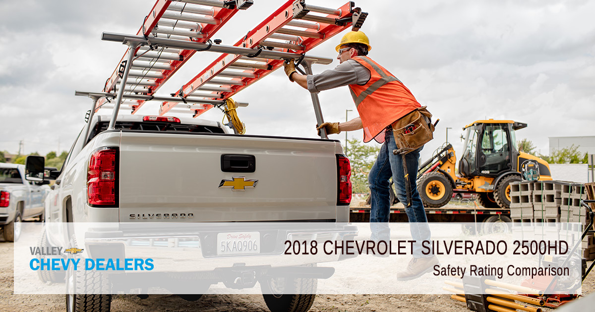 2018 Chevy Silverado 2500HD Safety Rating - Safety Comparison