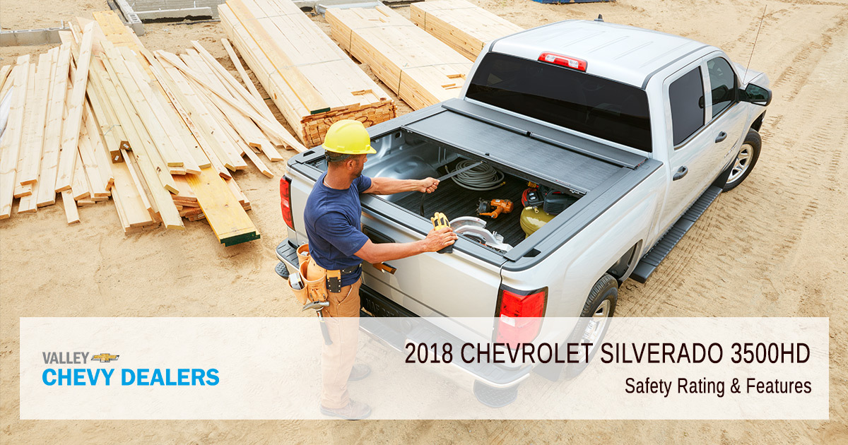 2018 Chevy Silverado 3500HD Safety Rating - Safety Rating