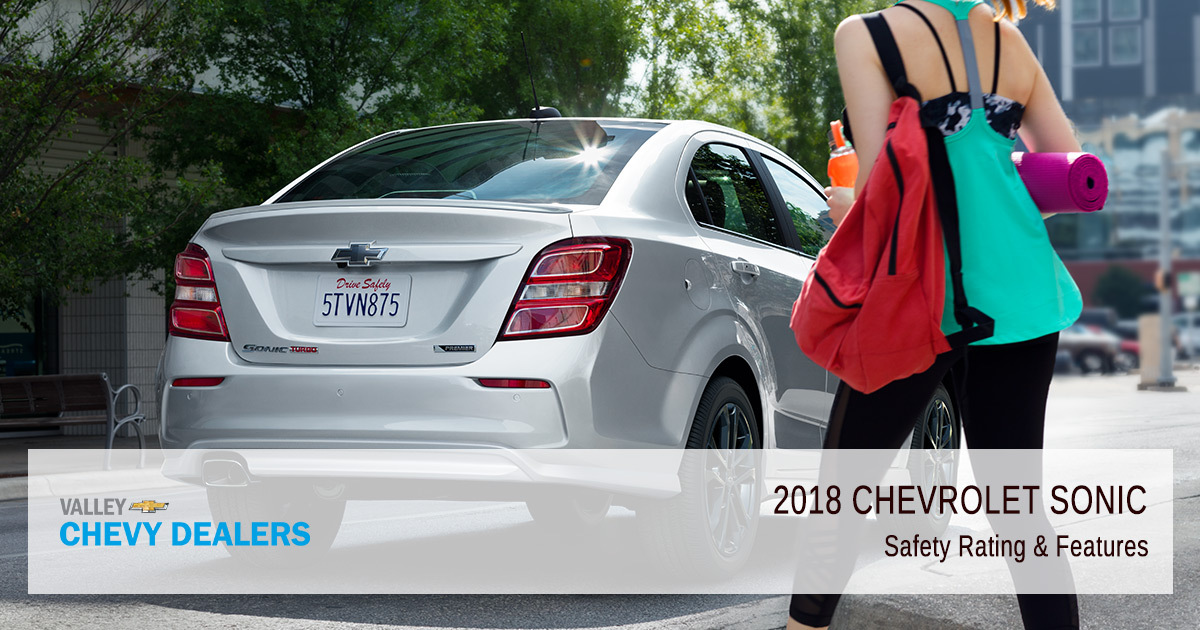 2018 Chevy Sonic Safety Rating - Features
