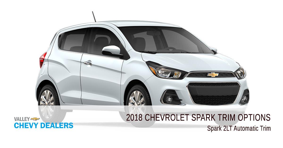 2018 Chevy Spark Trims Options - 2LT Automatic