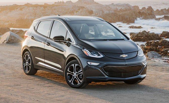 Top 10 Electric Vehicles Chevrolet Bolt