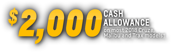 Total activos Asignación Trax Malibu Cruze