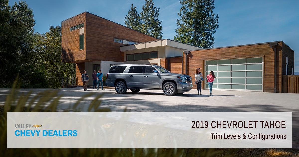 2019 Chevrolet Tahoe - Configuration