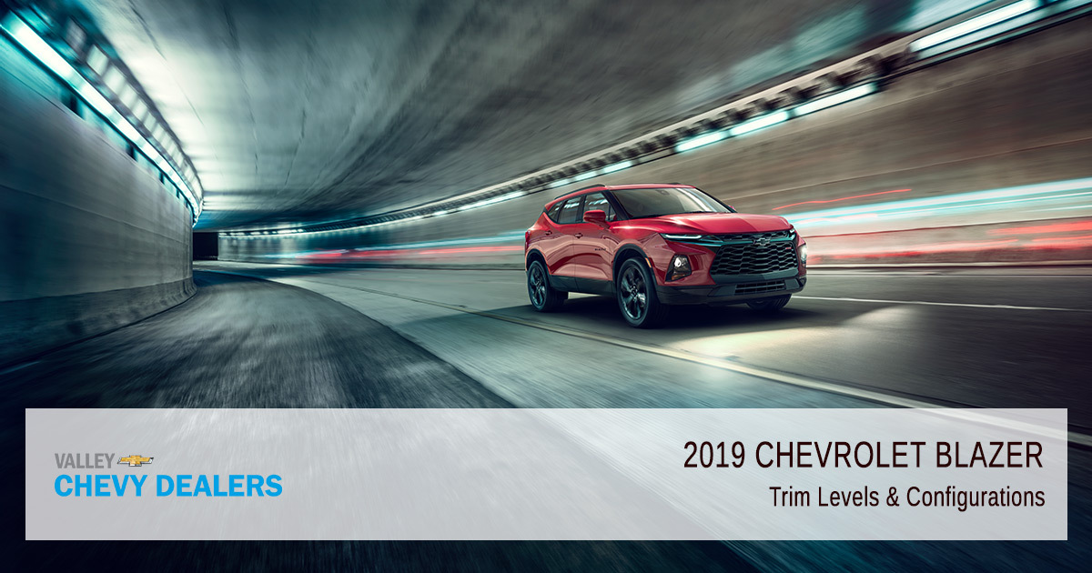 Introducing the 2019 Chevy Blazer - Trims