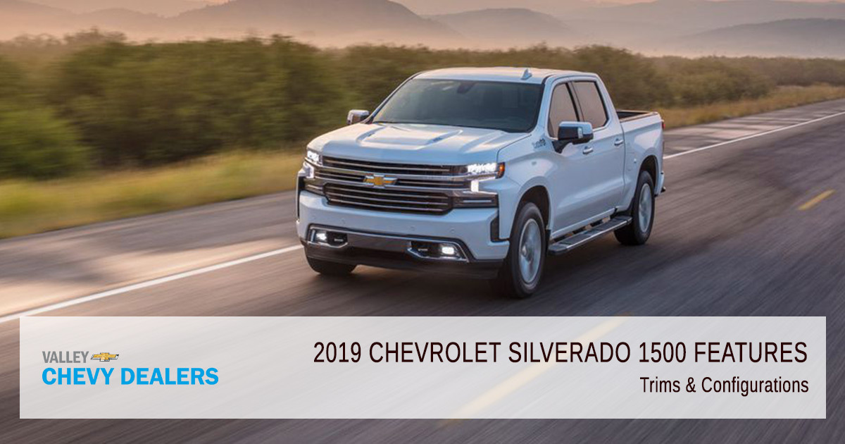 2019 Chevy Silverado - Trims