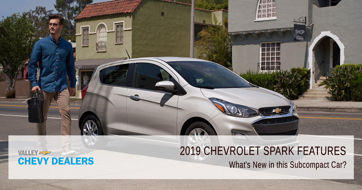 2019 Chevy Spark - What's New?