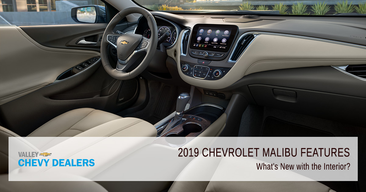 2019 Chevrolet Malibu Interior Exterior Safety Features