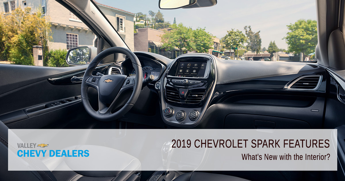 2019 Chevy Spark - Interior