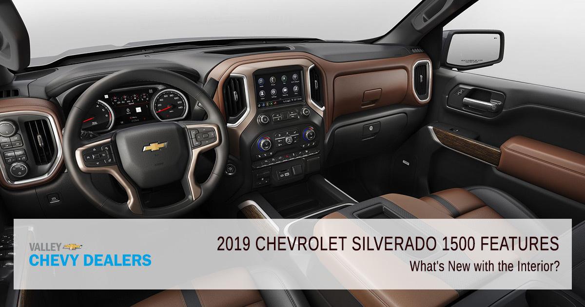2019 Chevrolet Silverado 1500 Interior Exterior Safety Features