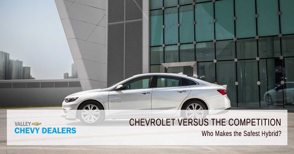 Valley Chevy - Who Makes the Safest Electric Car - Hybrid