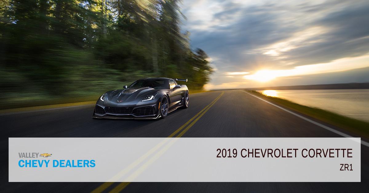 2019 Chevy Corvette Models Grand-Sport - ZR1