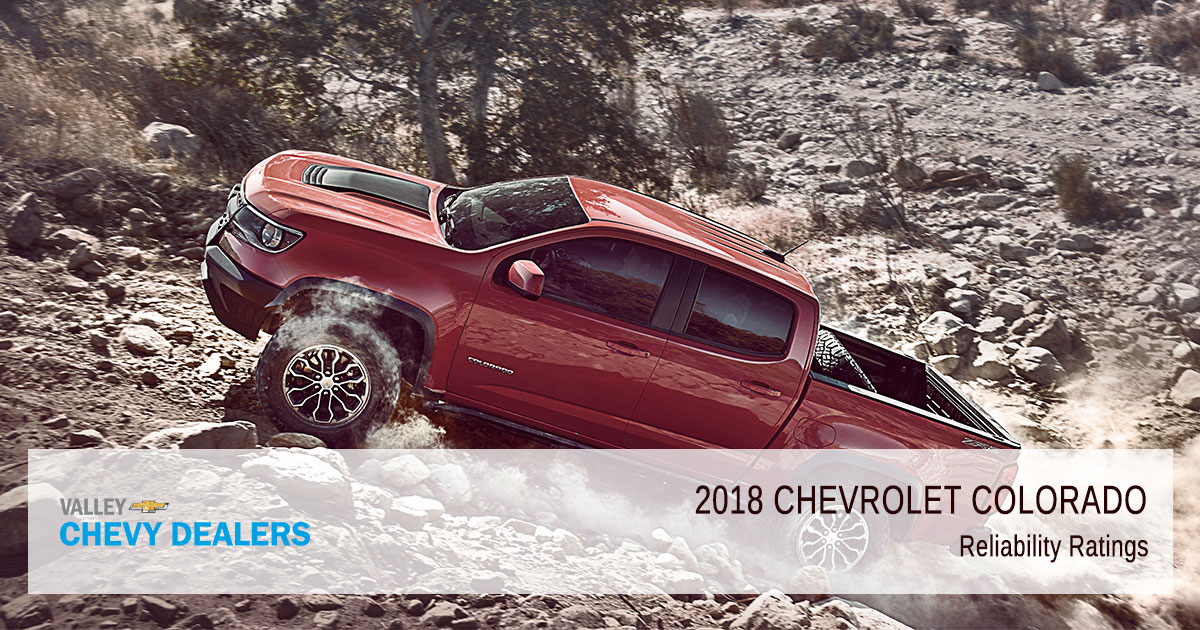 2018 Chevrolet Colorado Reliability - Ratings