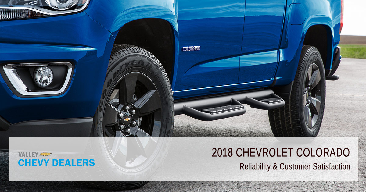2018 Chevrolet Colorado Reliability - Satisfaction