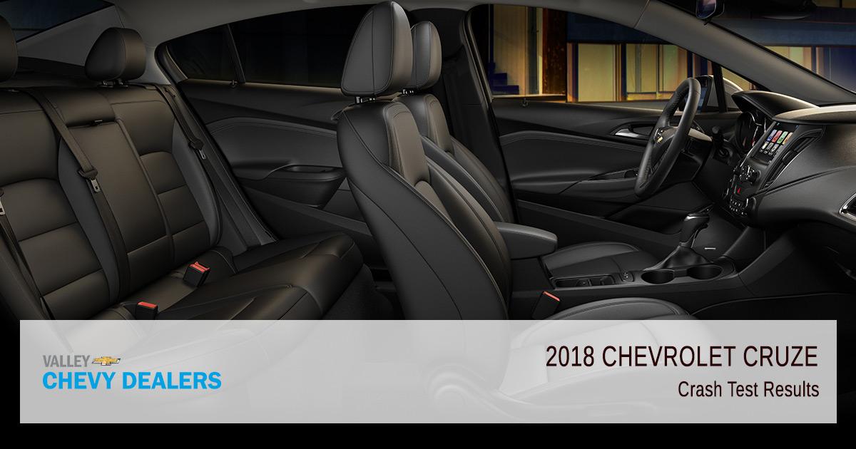 2018 Chevy Cruze Safety Rating - Crash Test