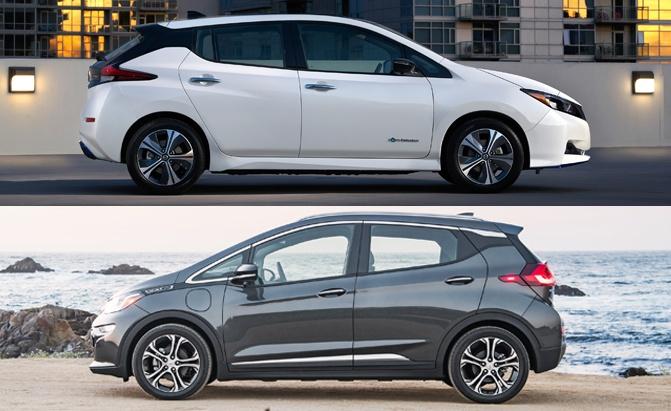 Nissan Leaf Vs Chevrolet Bolt