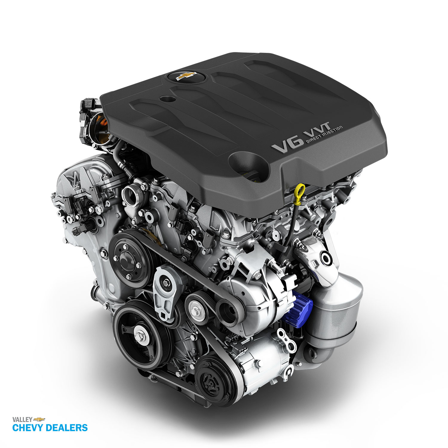 Valley Chevy - 2017 Chevrolet Engine Options to Choose From - LFX V6 3.6L