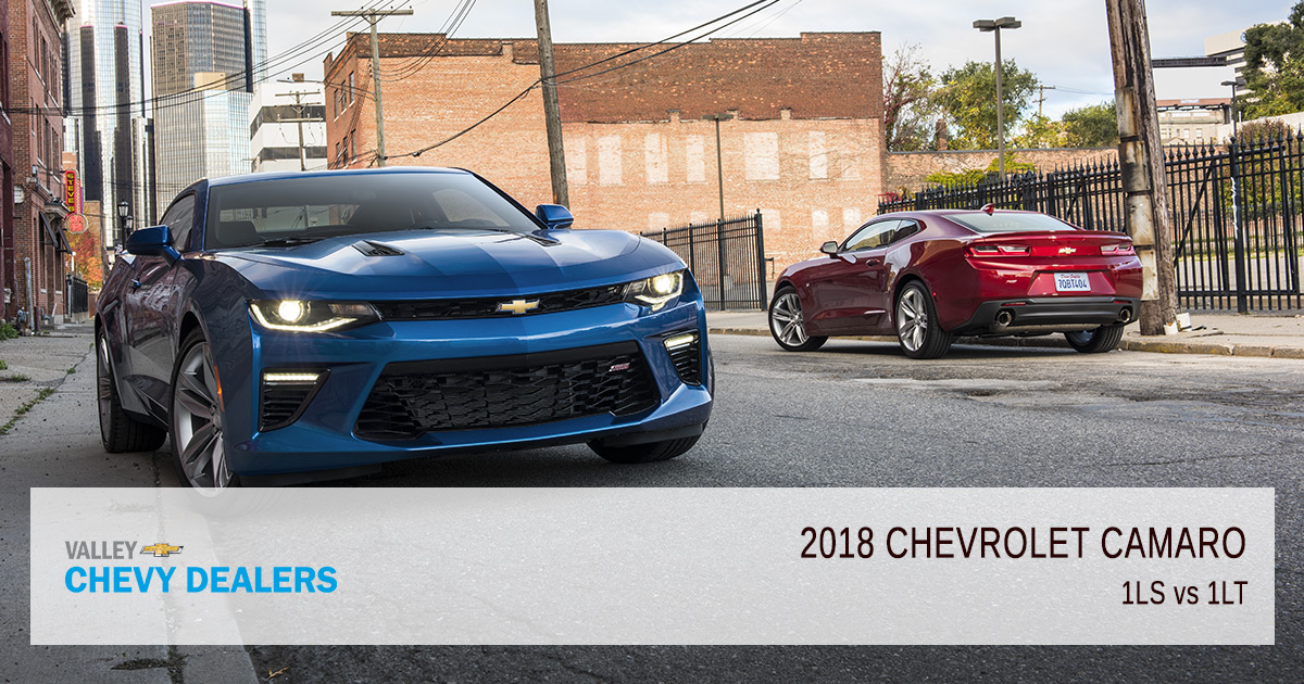 Valley Chevrolet - 2018 Trims Camaro 1LS vs 1LT