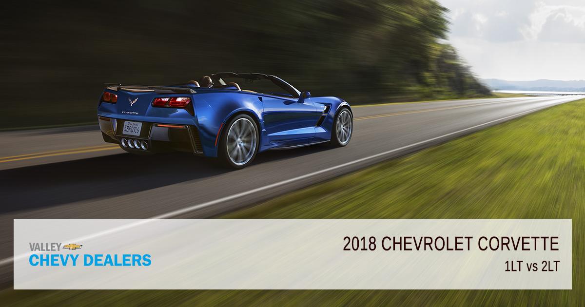 diferencia entre 2018 chevrolet corvette stingray 1lt 2lt. Black Bedroom Furniture Sets. Home Design Ideas