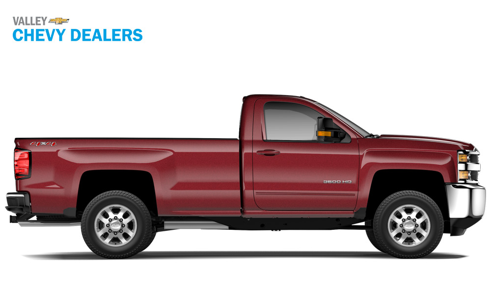Valley Chevrolet - 2018 Trims Silverado 3500 LT