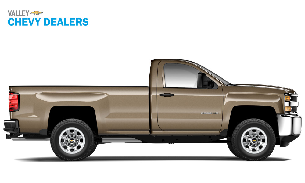 Valley Chevrolet - 2018 Trims Silverado 3500 WT