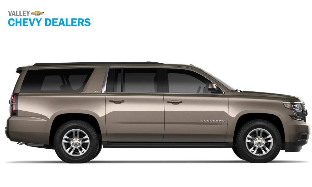 Valley Chevrolet - 2018 Trims Suburban LT