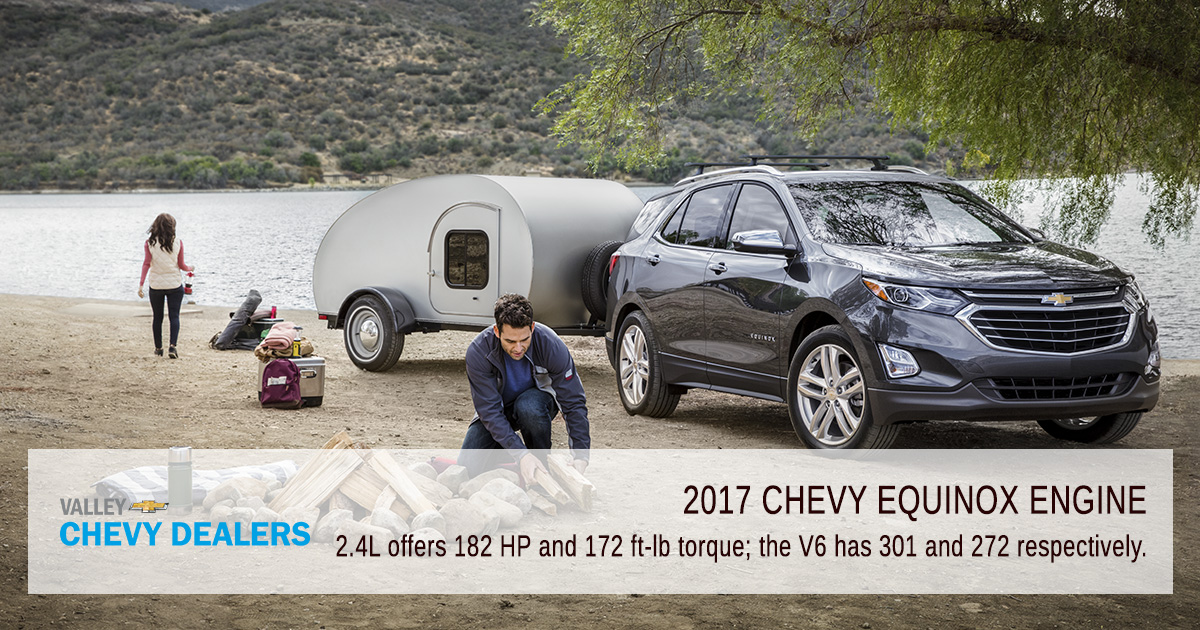 Valley Chevy - 2017 Equinox Key Engine Facts - Long Haul