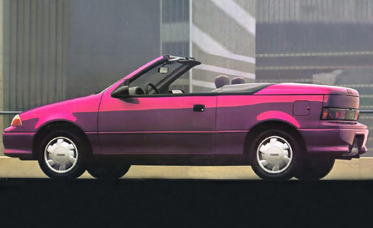 Valley Chevy - 10 Chevrolet Cars Time Fogot About - Geo Metro