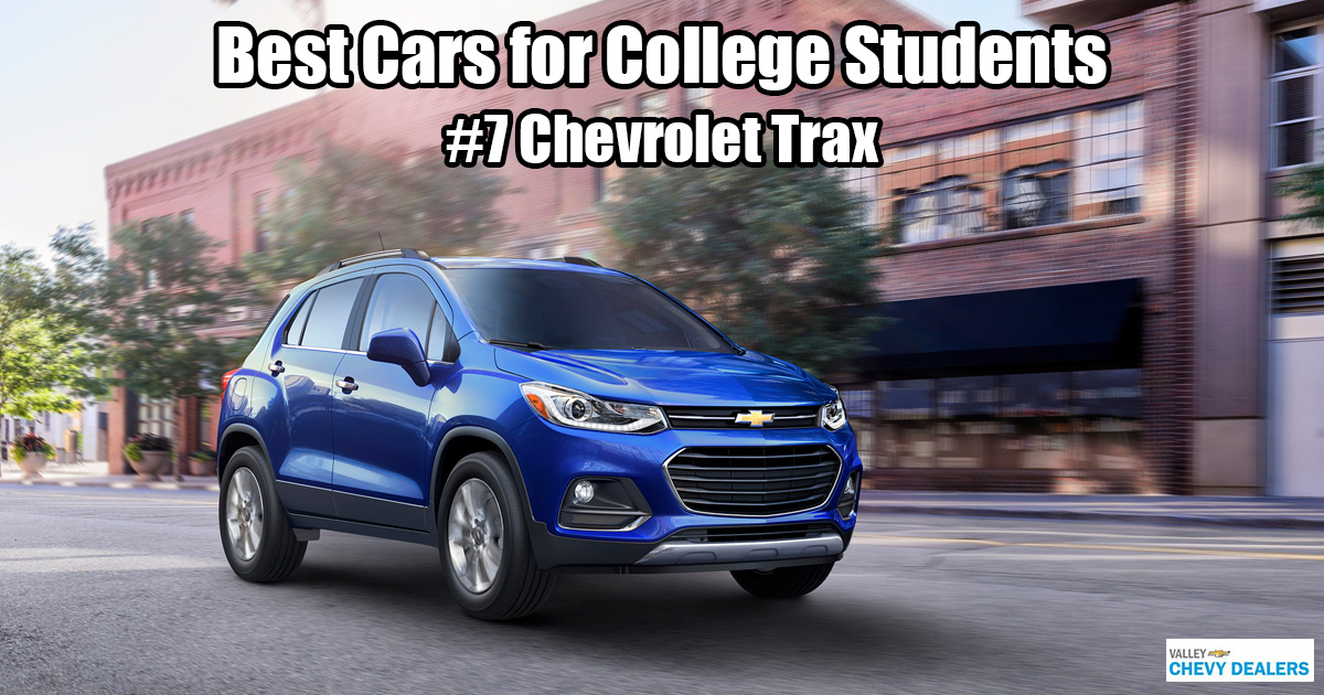 Valley Chevrolet in Phoenix - Which Car is Best for a College Student? - Chevy Trax
