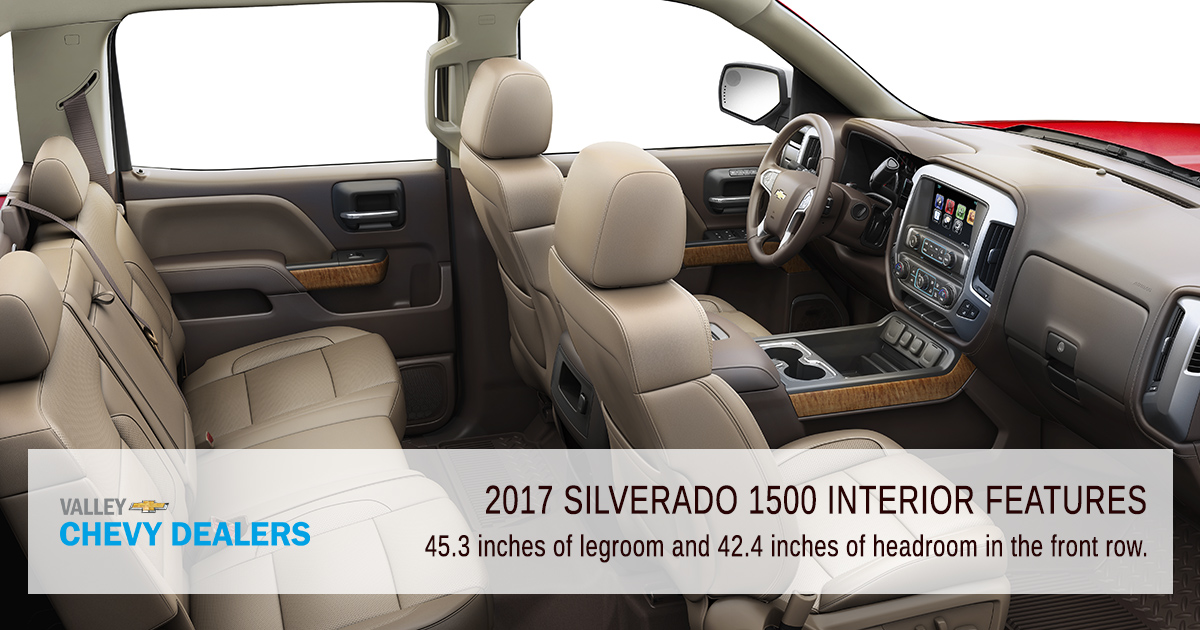 2017 Chevrolet Silverado 1500 Interior Features Valley Chevy
