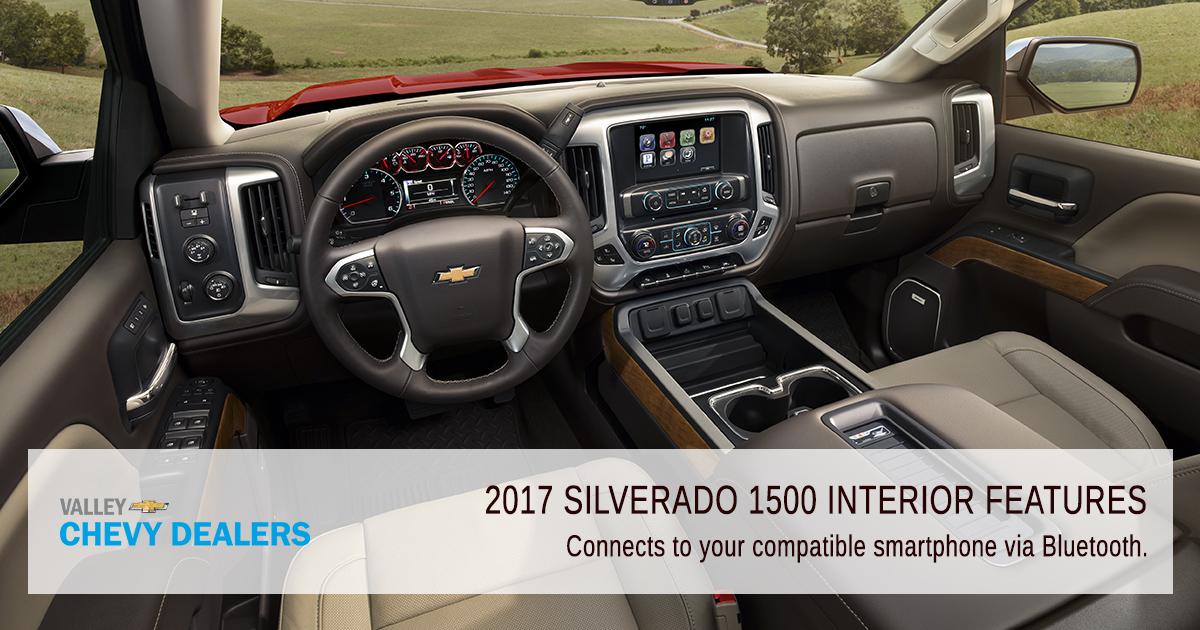 Valley Chevrolet - Silverado 2017 Interior Features - Convenience