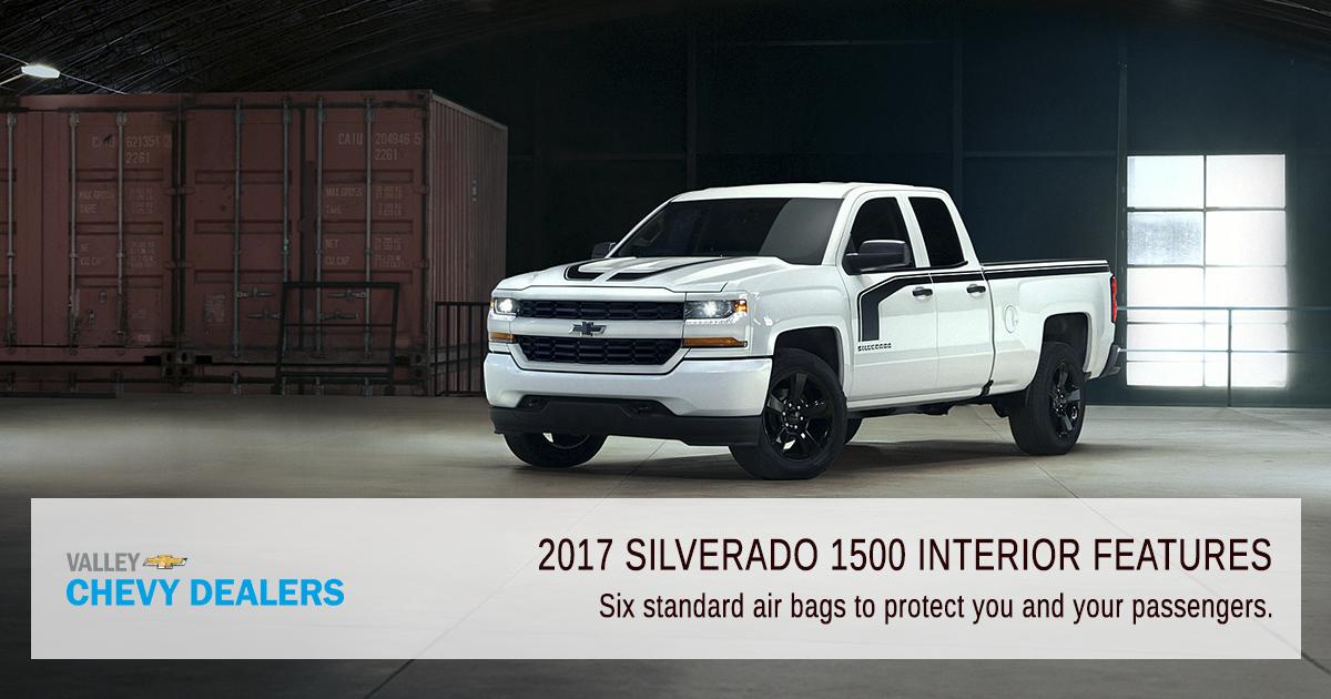Valley Chevrolet - Silverado 2017 Interior Features - Safety