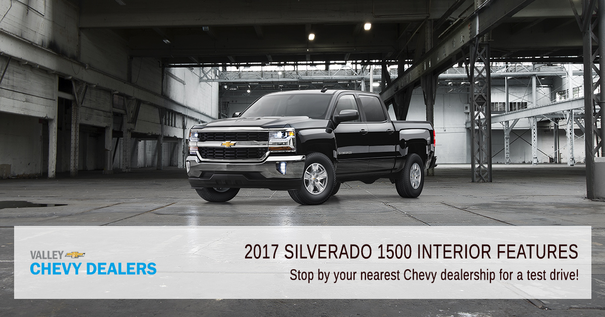 Valley Chevrolet - Silverado 2017 Interior Features - Test Driver