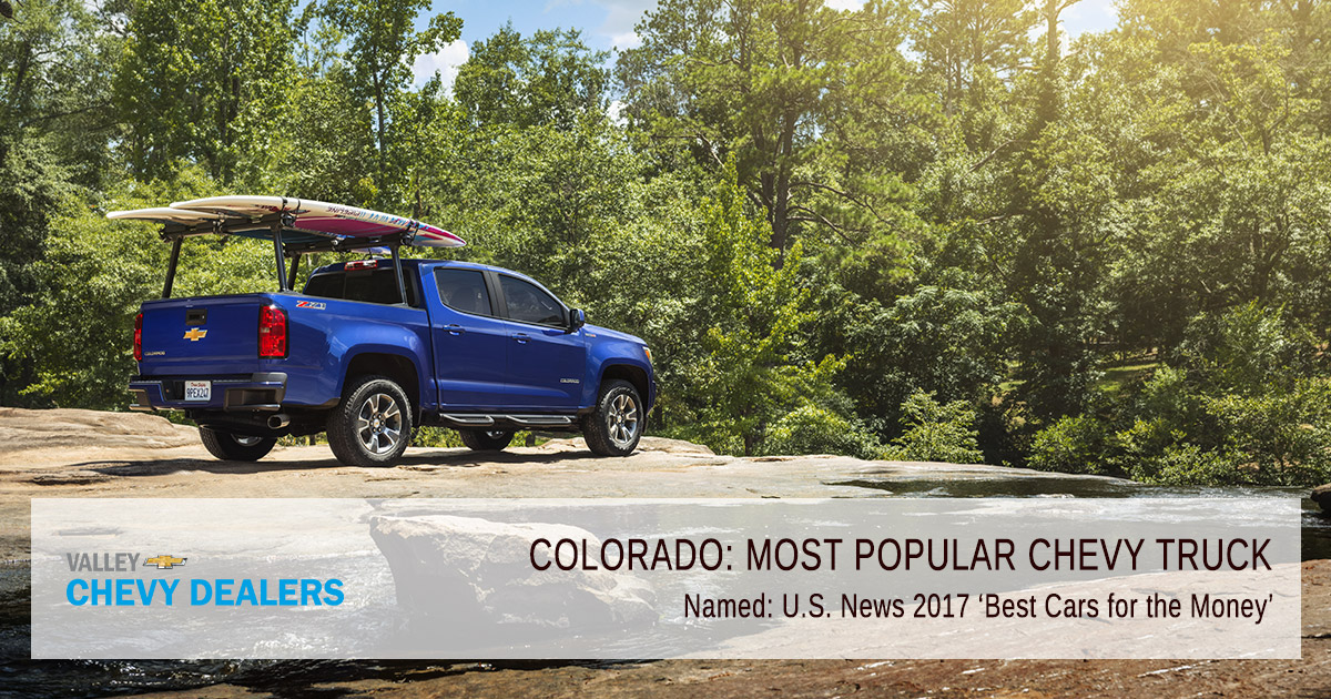 Valley Phoenix Chevrolet - What is the Most Popular Chevy Truck? - Awards