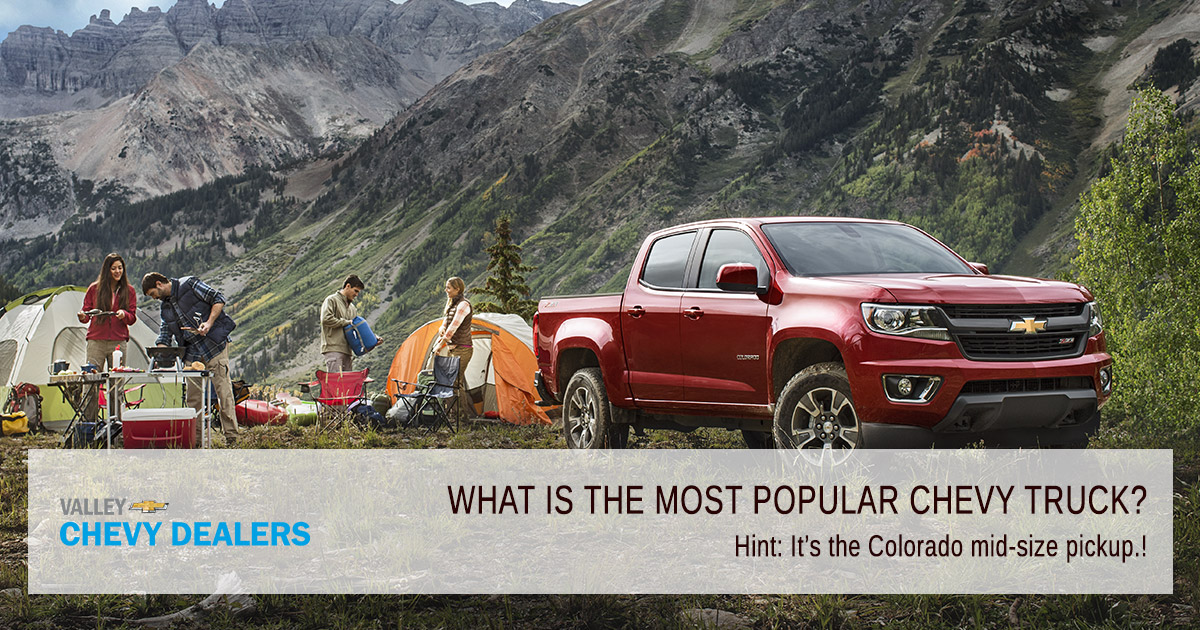 Valley Phoenix Chevrolet - What is the Most Popular Chevy Truck?