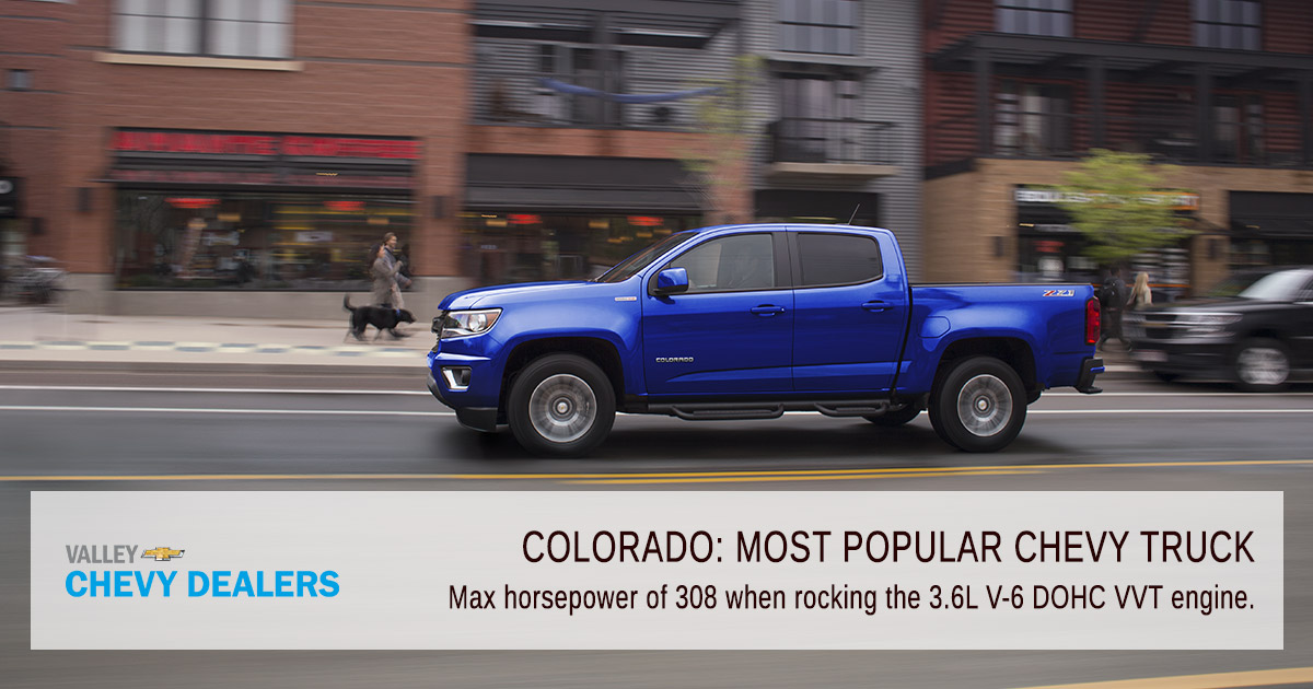 Valley Phoenix Chevrolet - What is the Most Popular Chevy Truck? - Power