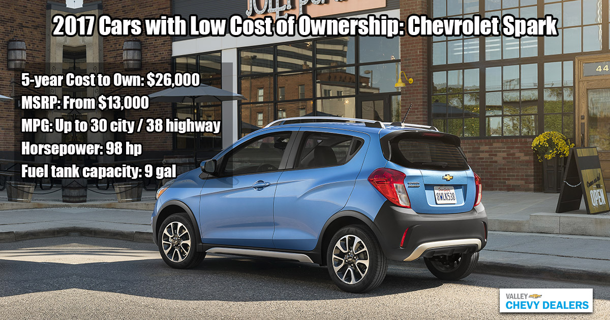 Valley Chevy Phoenix - 2017 Cars Cheap to Own: Chevrolet Spark
