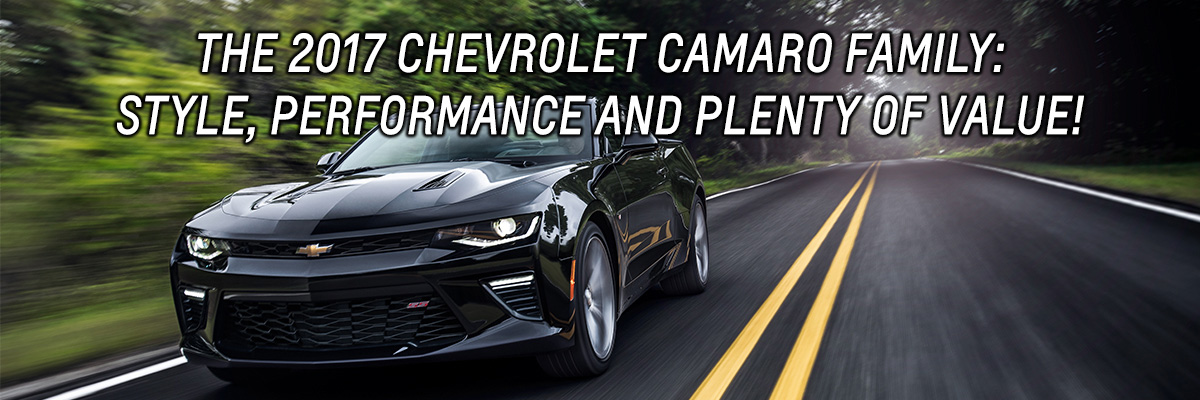 Valley Chevy 2017 Chevrolet Camaro All Trims Value