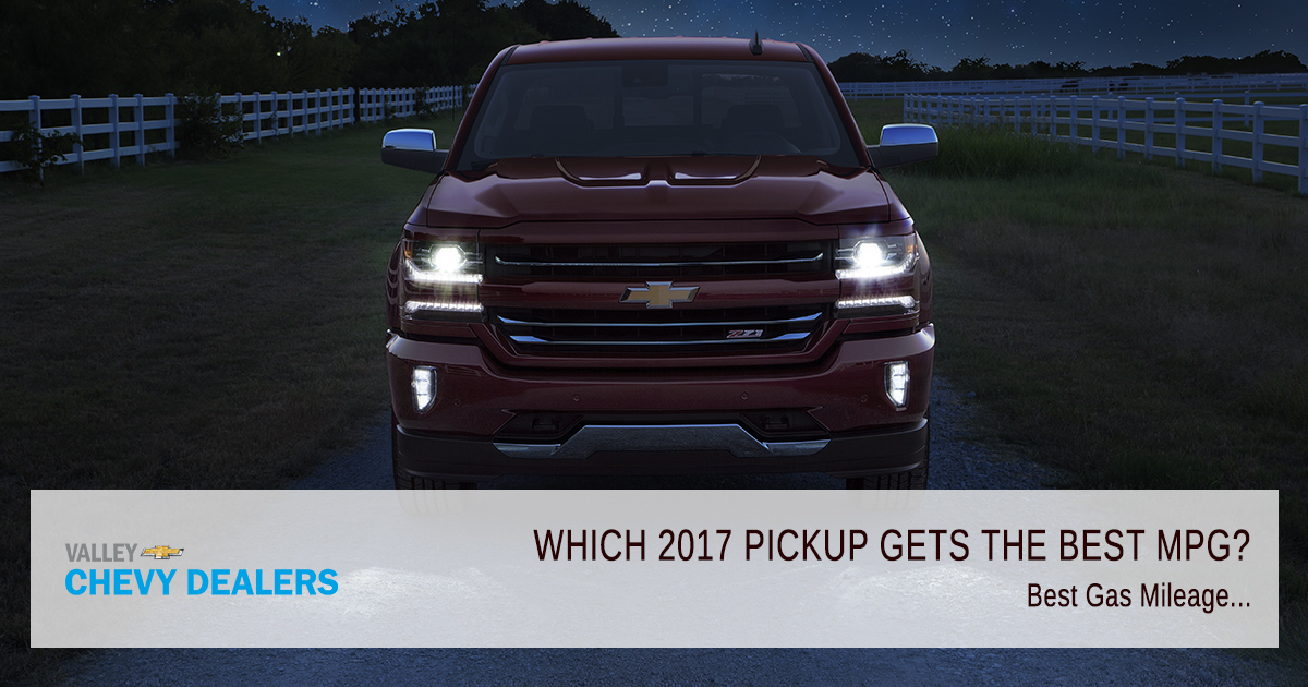 Valley Chevy 2017 Chevrolet Silverado 1500 Mpg Fuel Economy
