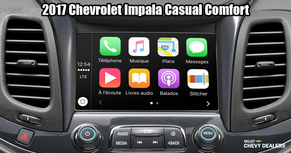 Valley Chevy - 2017 Chevrolet Impala Standard Comforts