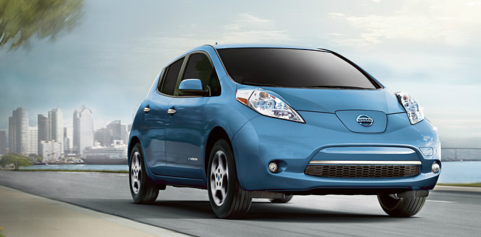 Valley Chevy - 2017 Nissan Leaf in Blue