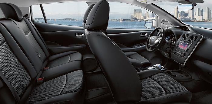 Valley Chevy - 2017 Nissan Leaf Interior