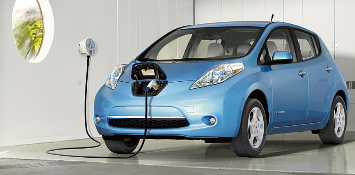 Valley Chevy - 2017 Nissan Leaf Charging