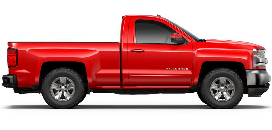 Valley Chevy - 2017 Silverado LS in Red