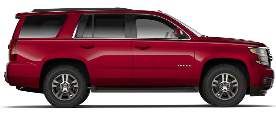 Valley Chevy - 2017 Tahoe LT in Red